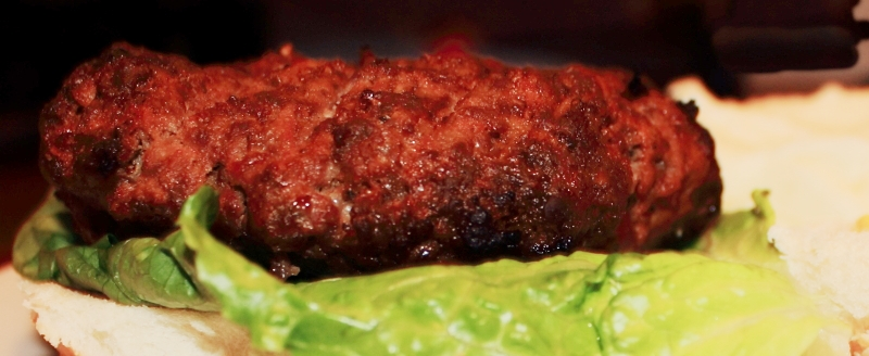 Fall Broiled Organic Grass Fed Beef Burgers  Photo by Michelle PG Richardson ©