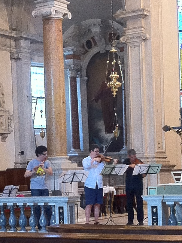 Bach-Suiten mit VBO in Mailand