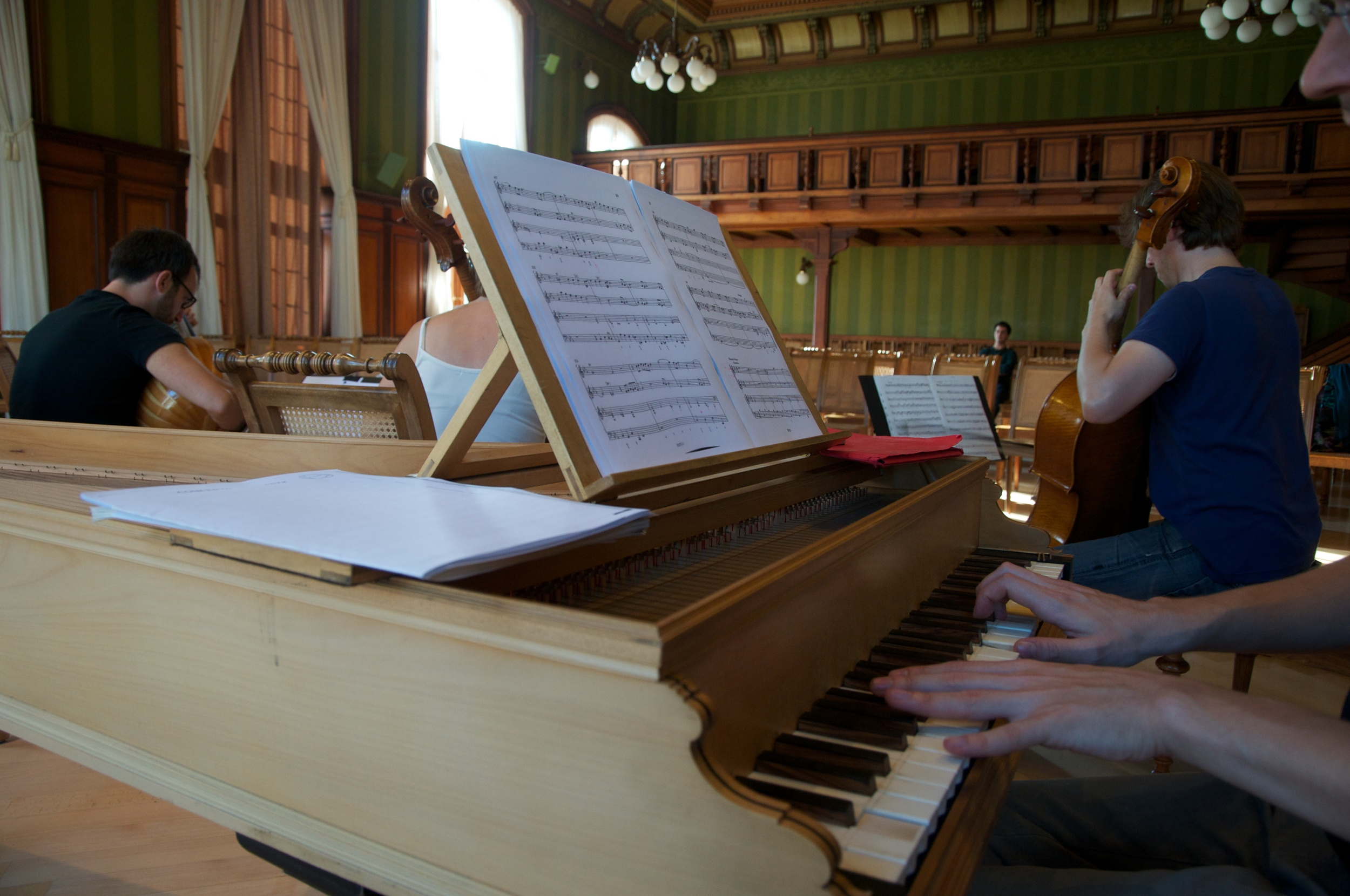 """Basso solo"" im Rathaussaal Weinfelden"