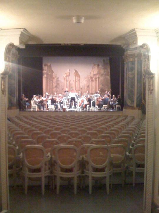 Gala-Konzert in Schwetzingen.