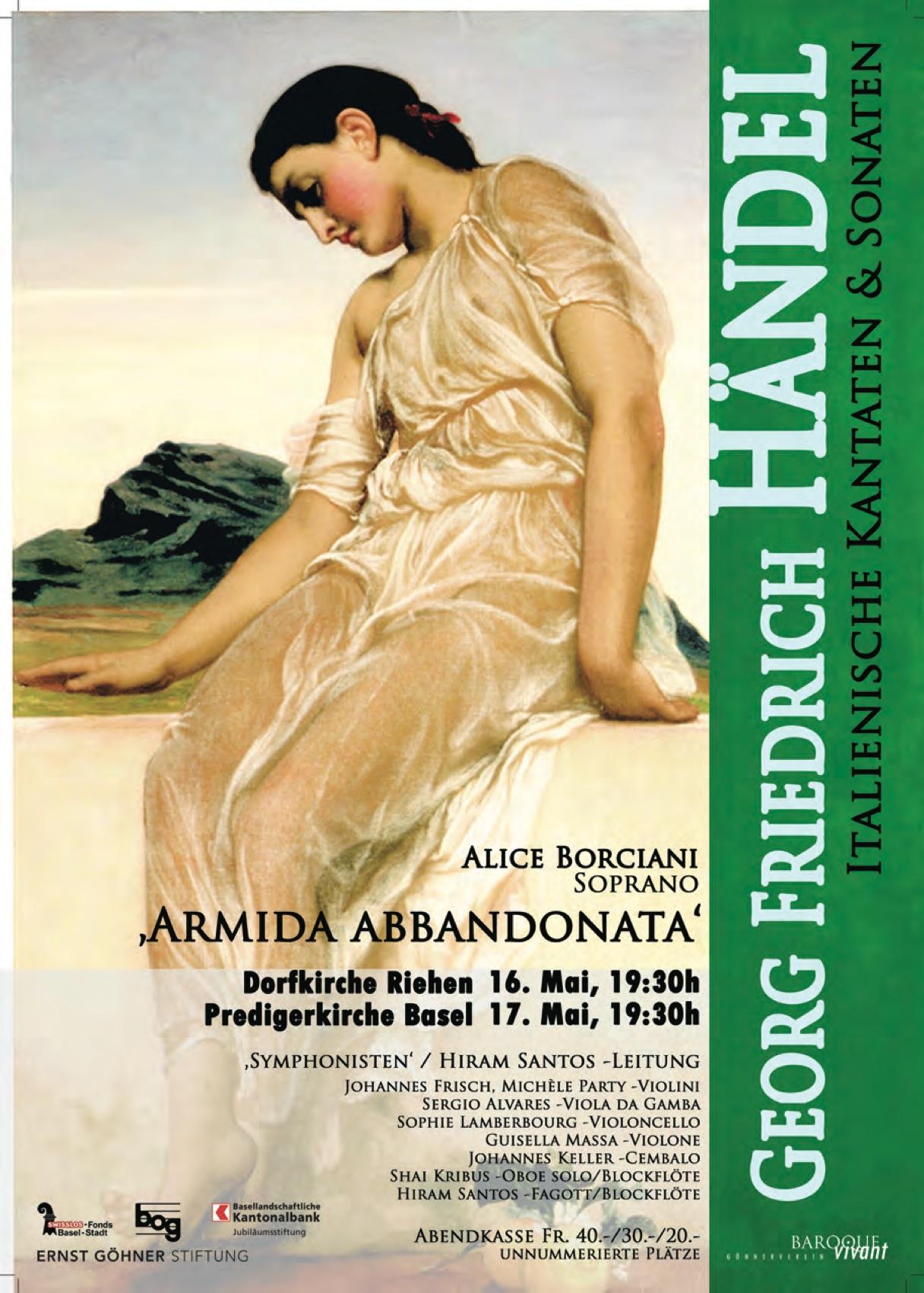 """Armida abbandonata"" mit Alice Borciani"