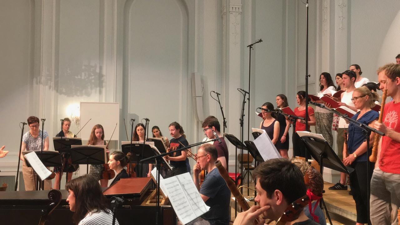 Abschlusskonzert zu Ehren von Hans-Peter Weber