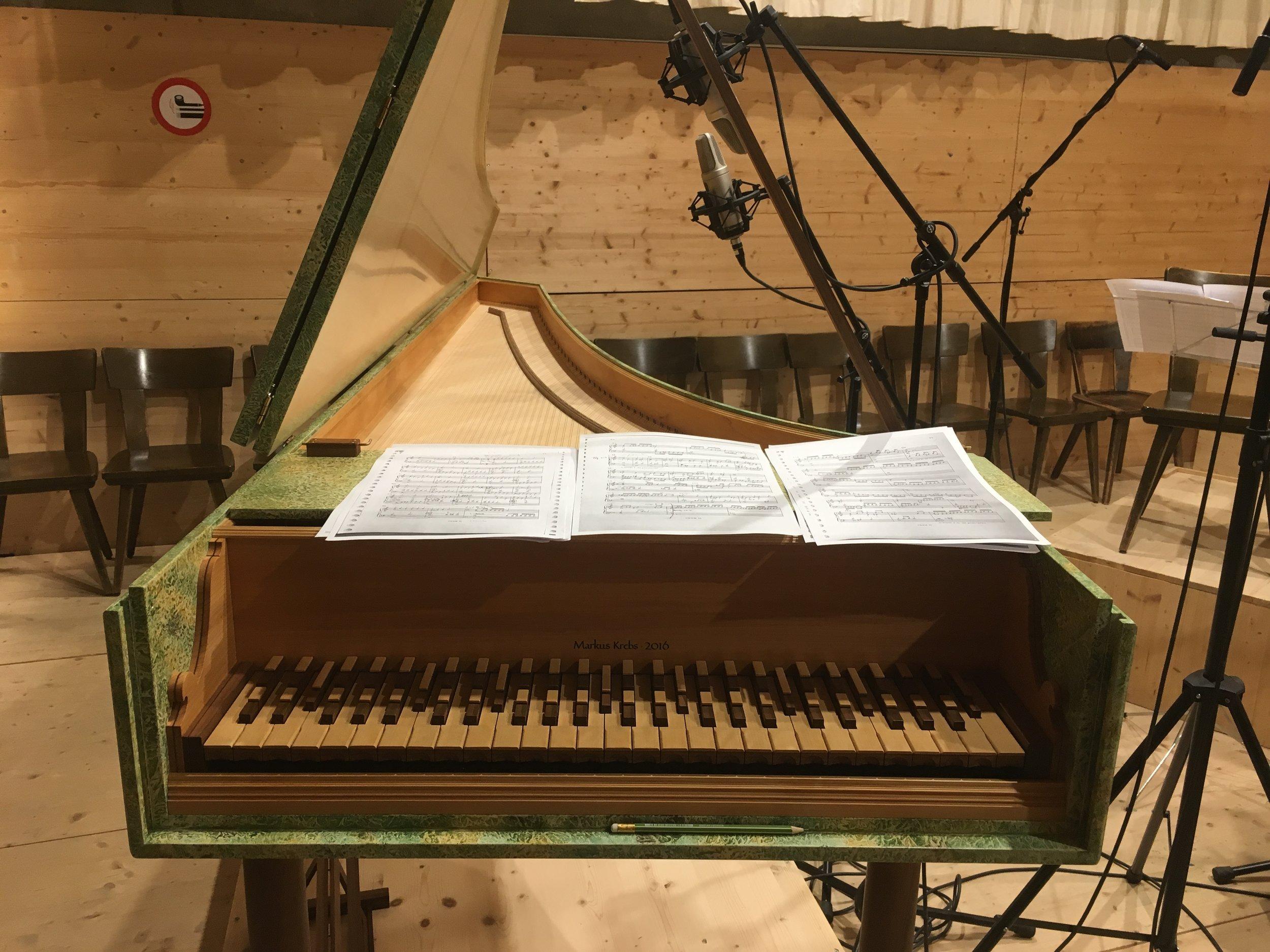 CD-Produktion mit Vera Schnider