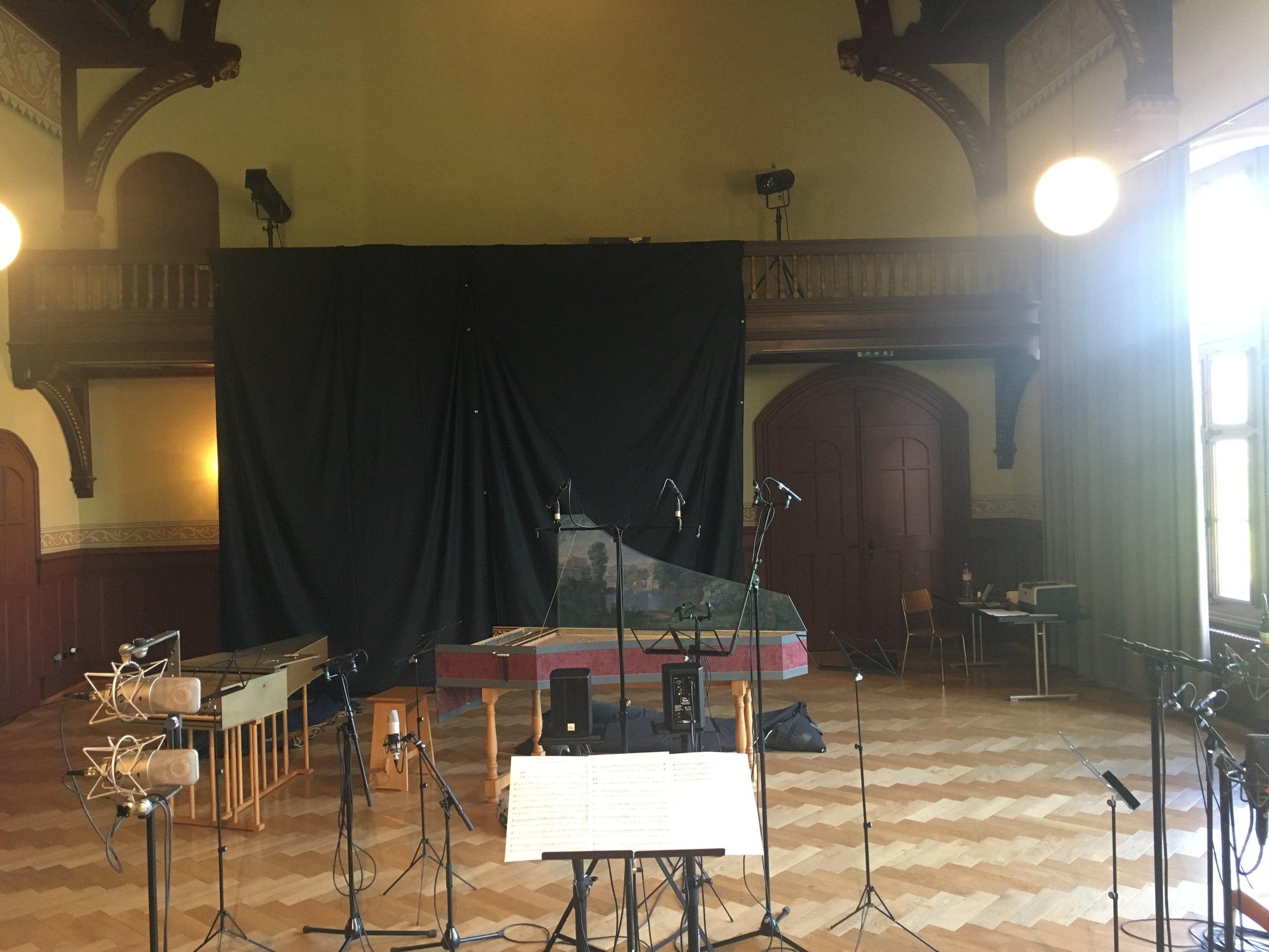 CD-Produktion mit Jan Börner, Nuria Rial und Il Profondo, Solothurn