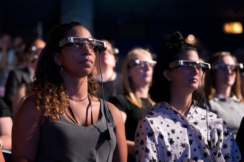 National Theater in London Offers Glasses With Live Subtitles (Courtesy New York Times)