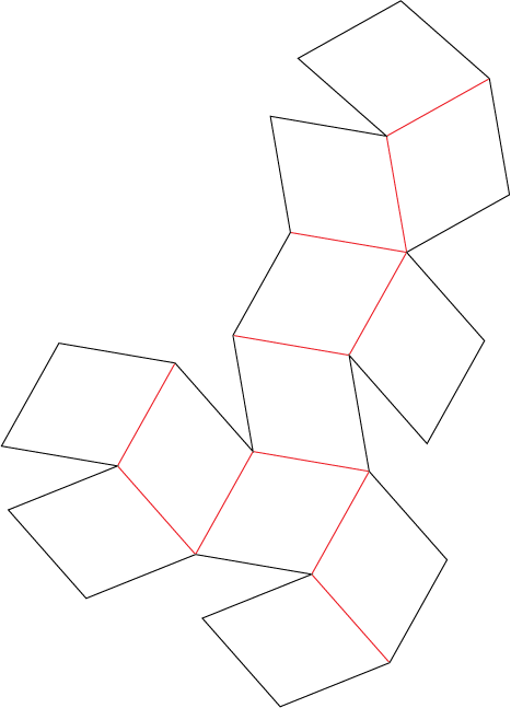Geometric Net for Dolomite