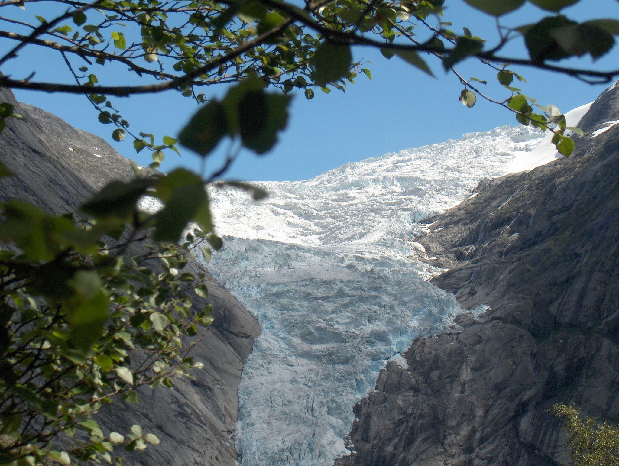Briksdalsbre Glacier, Olden, Norway. All rights reserved.