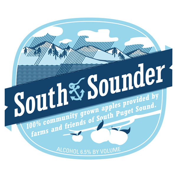 South Sounder blend from Whitewood Cider Co.   Check in on Untappd.