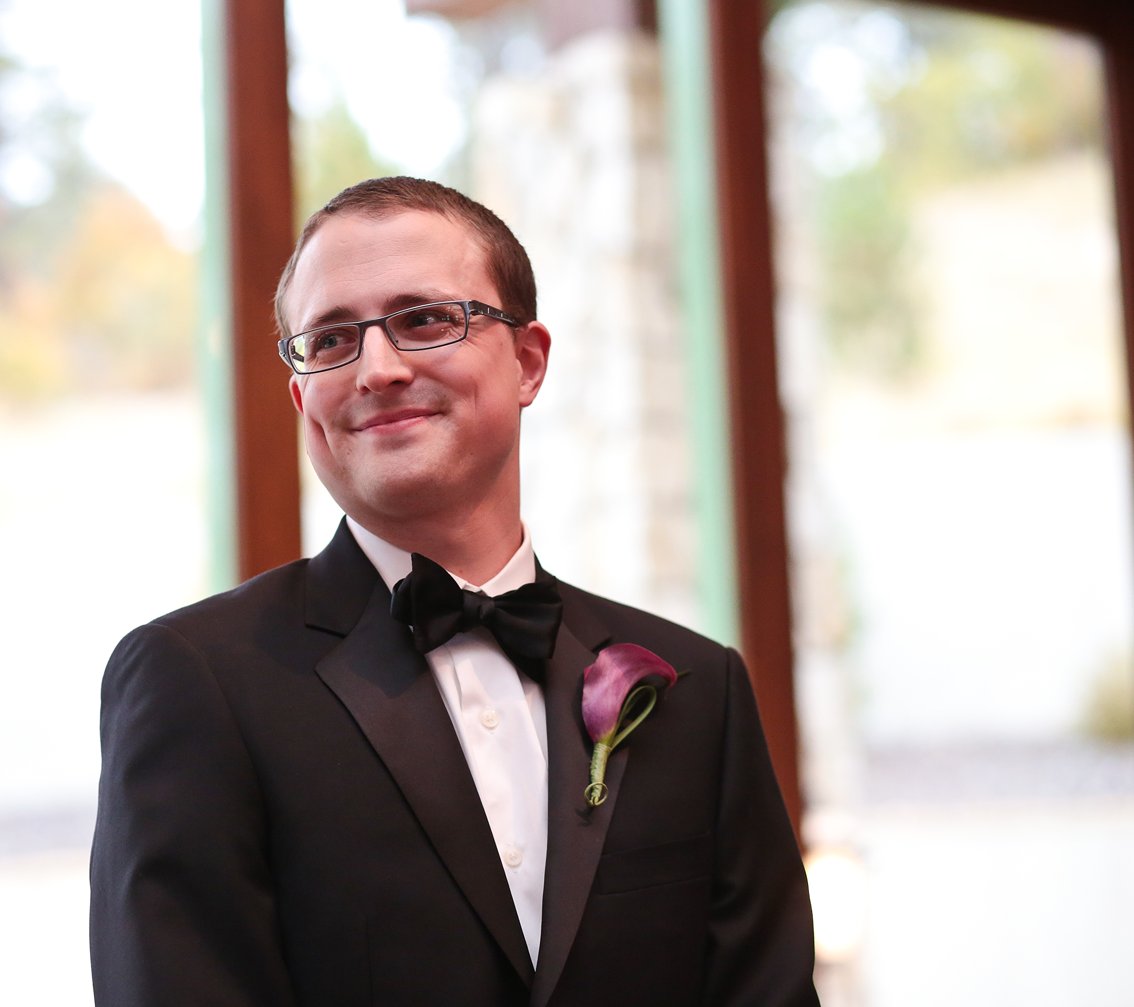 October 6, 2012: The day I tied my own bow tie. And got married.
