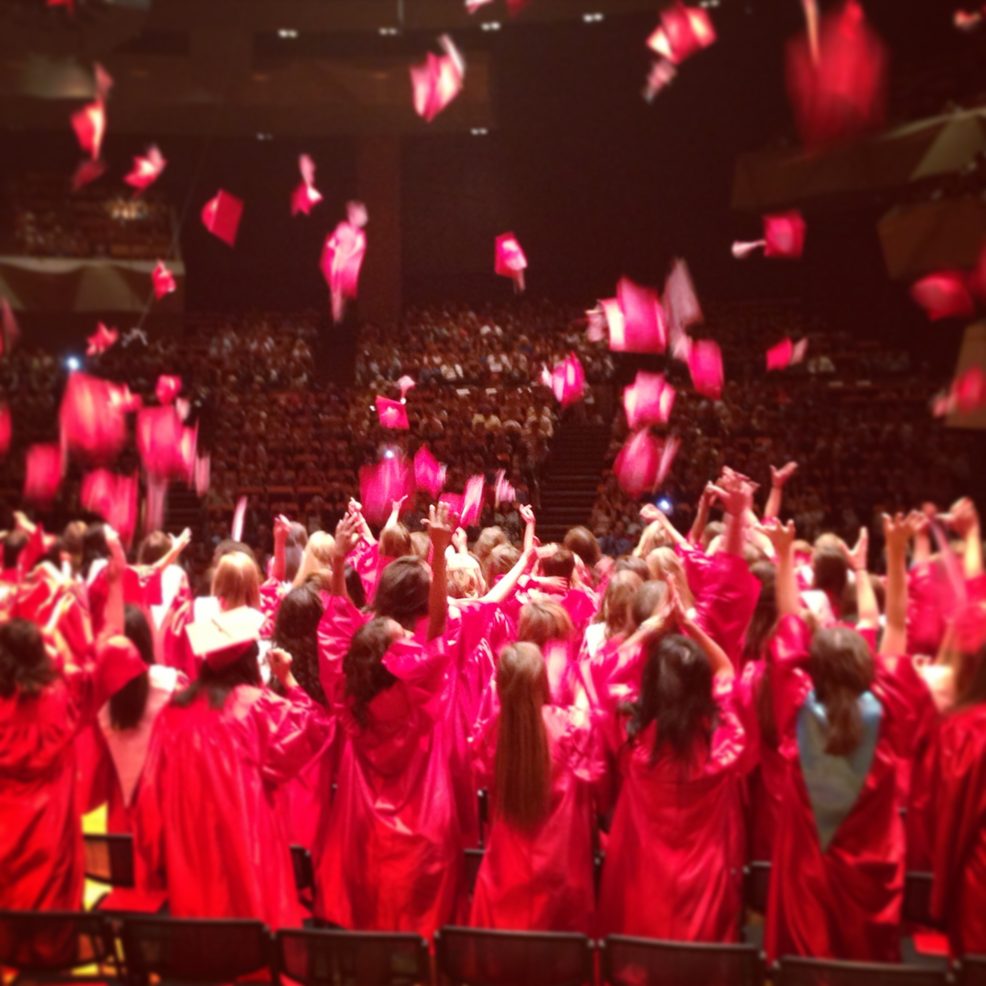 Class of 2013, blissfully unaware of their futures.