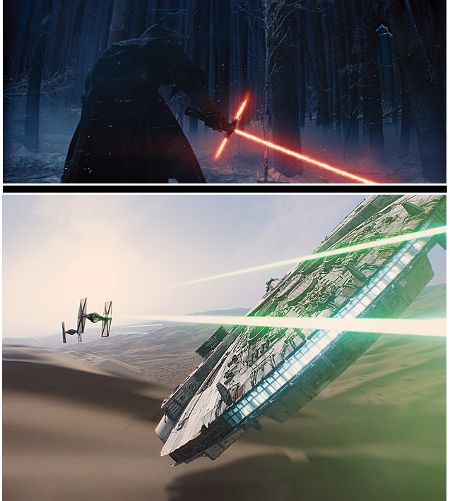 Images courtesy of Lucasfilm.