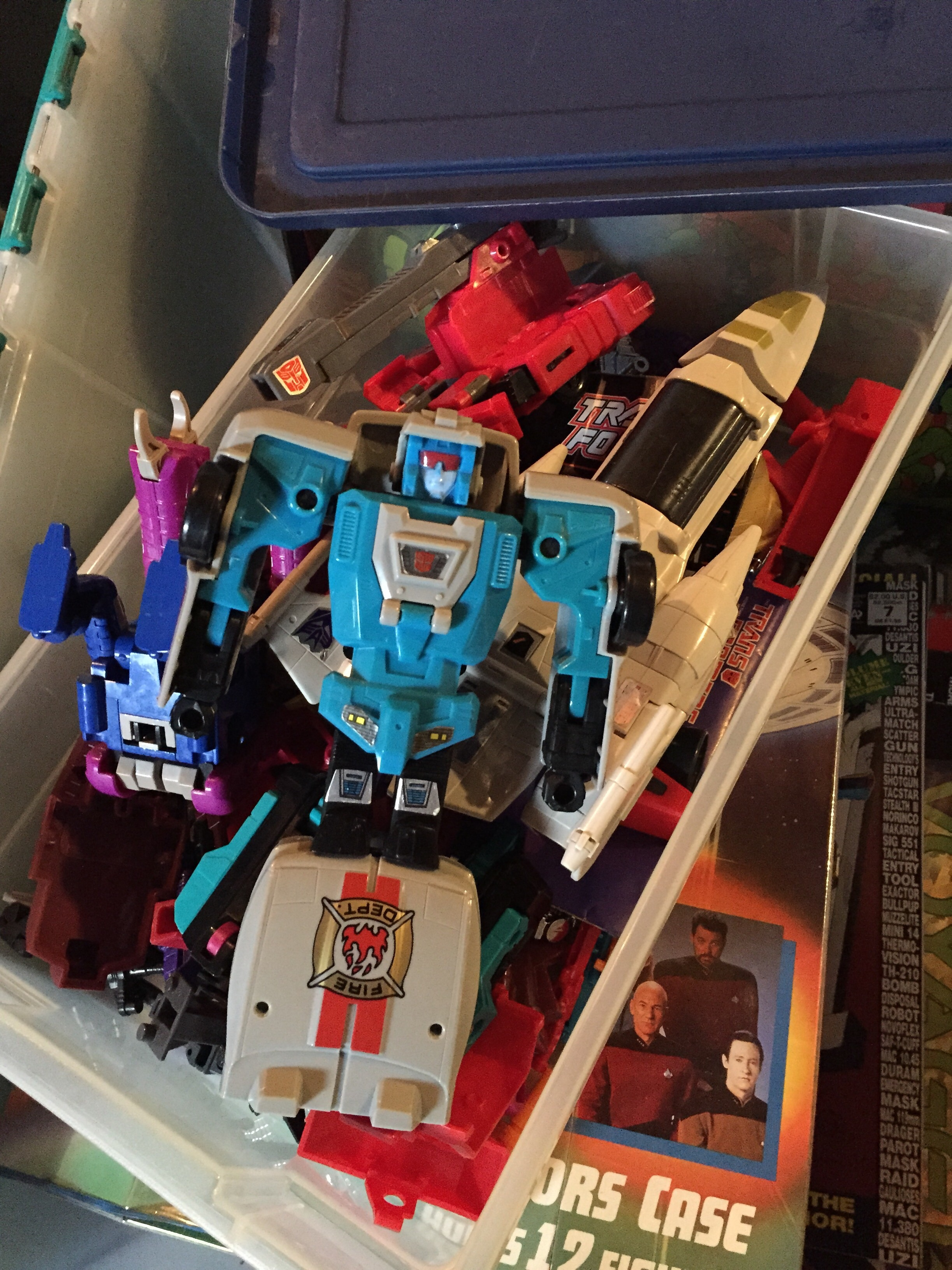 And of course Transformers, something else old that's new again.