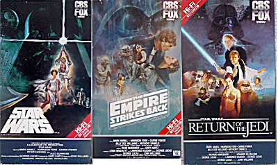 I wore out these copies from the video stores. They had to be repaired a couple times, if I recall.