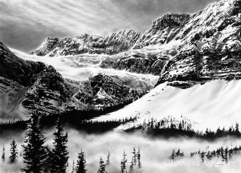"""""""Crowfoot Glacier"""""""