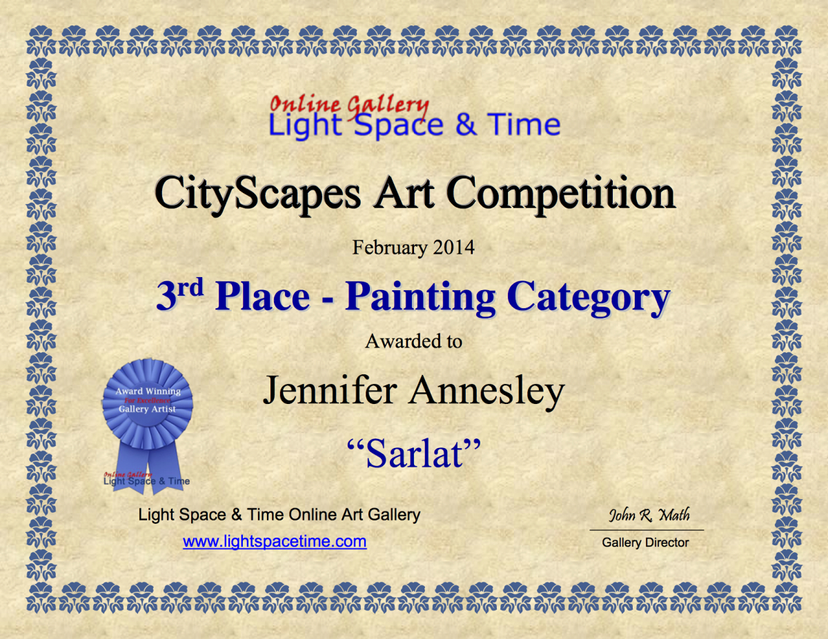 Third Place Painting