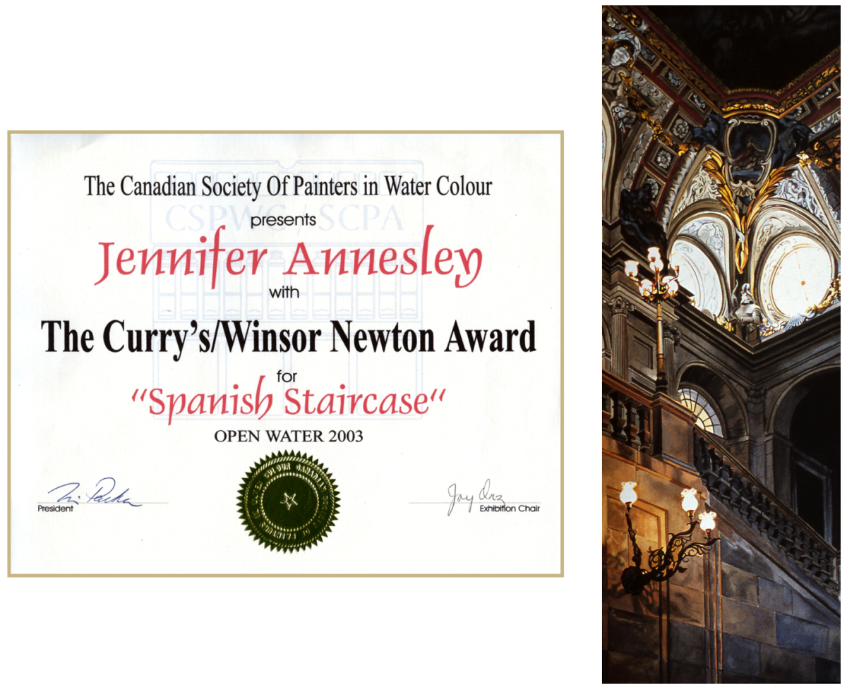 Curry's Winsor Newton Award