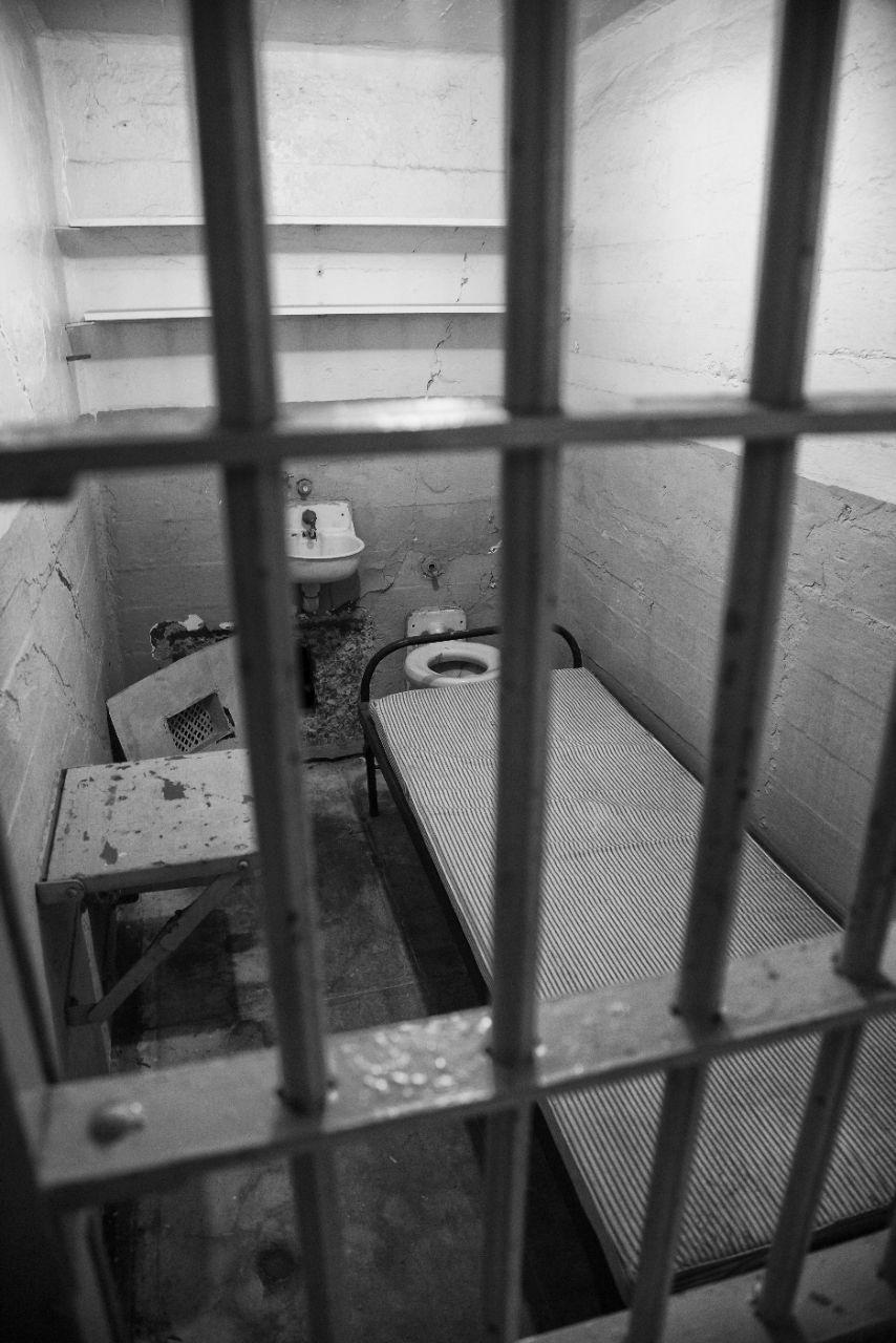 Alcatraz cell.