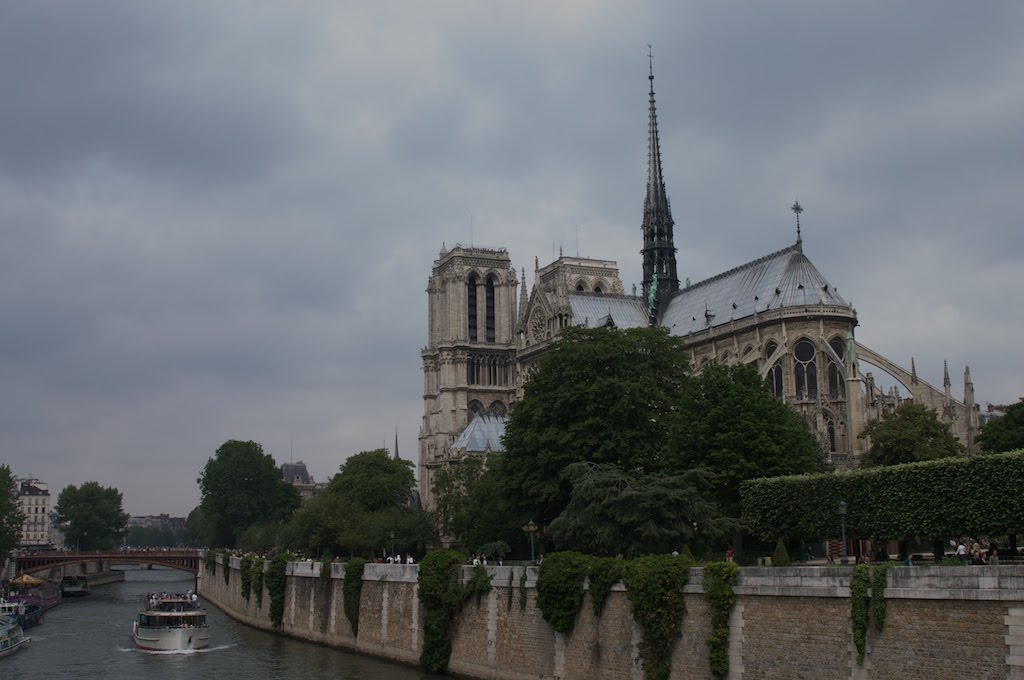 The incredible Notre-Dame cathedral