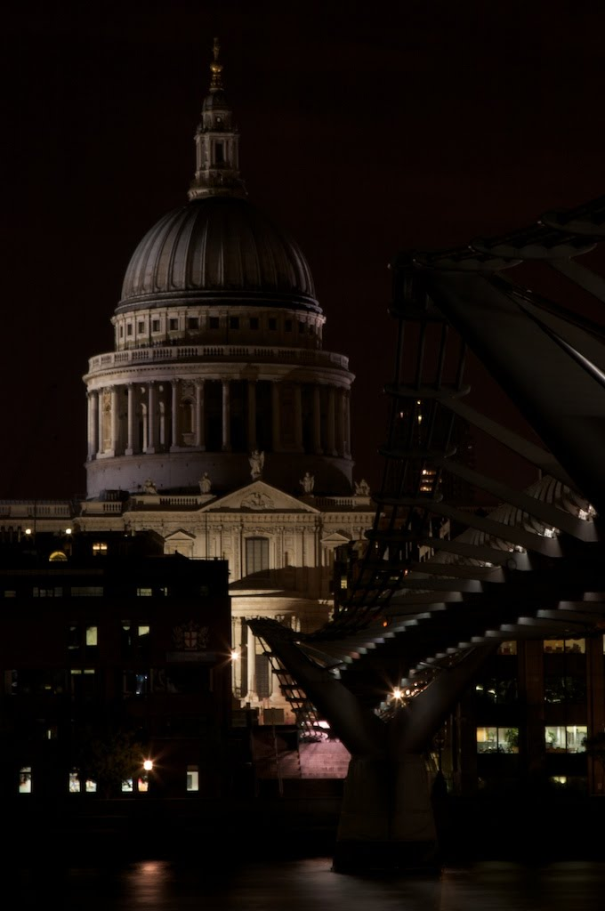 St. Paul's and the Millenium Bridge