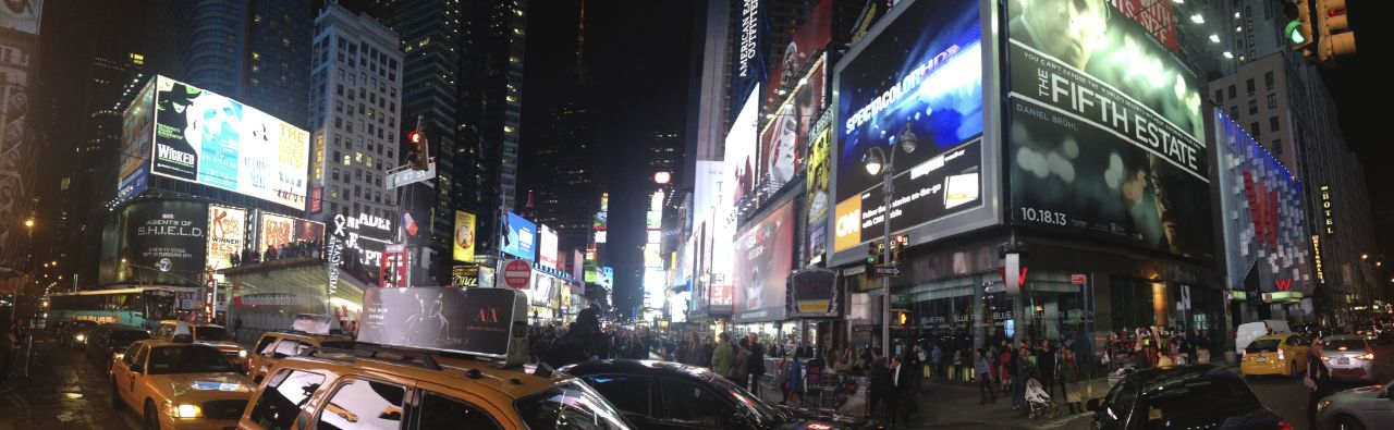 What would a trip to New York be without a visit to Times Square?