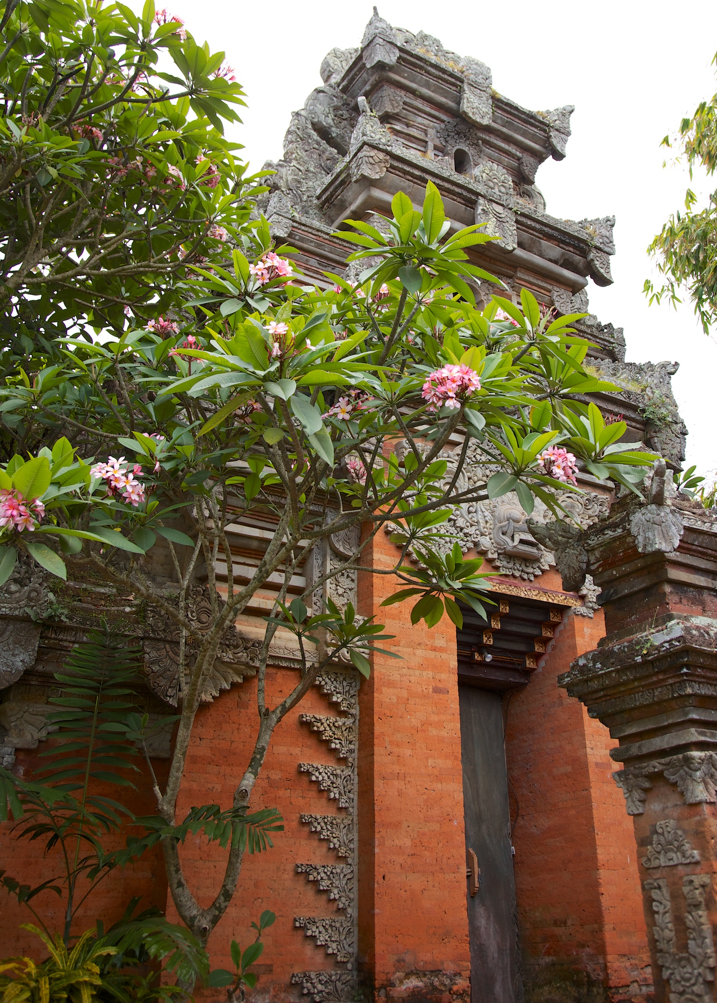 The temples around Bali are very cool. I don't think that most of them are very old, but they are very ornate.