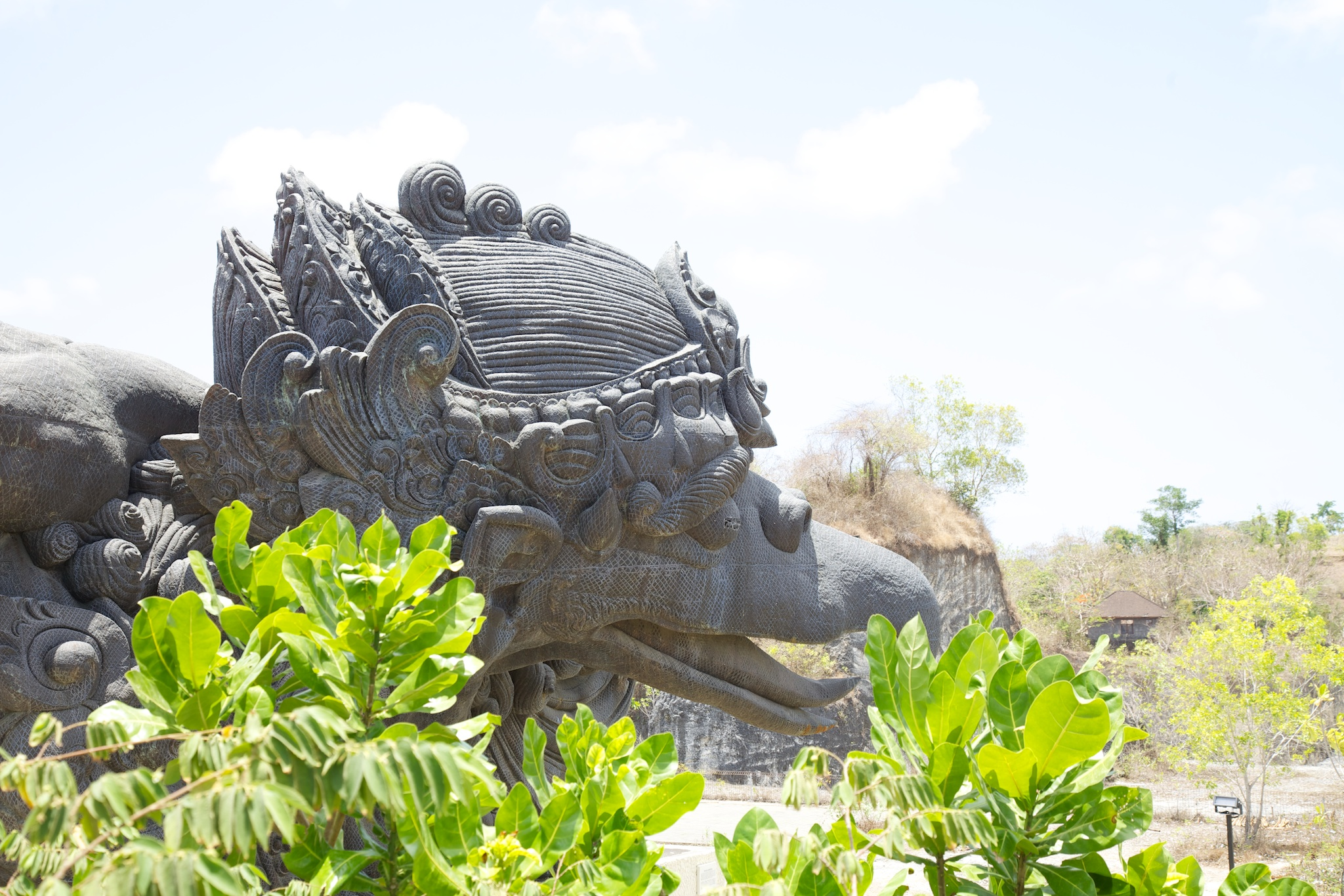 Another of the huge statues.