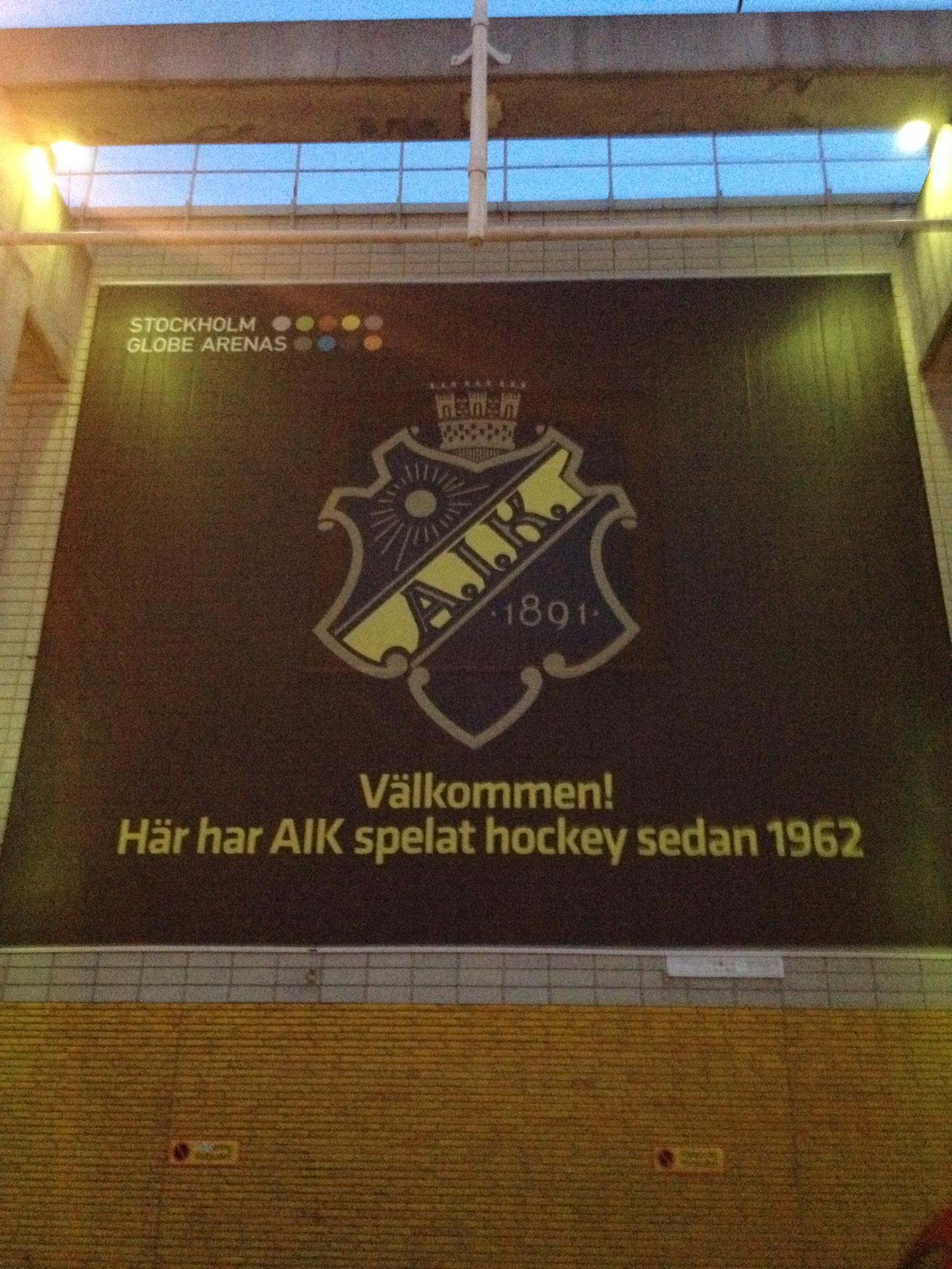 Allmänna Idrottsklubben Ishockeyförening (abbreviated AIK Hockey, or simply AIK), is the ice hockey section of sports club Allmänna Idrottsklubben based in Stockholm, Sweden.