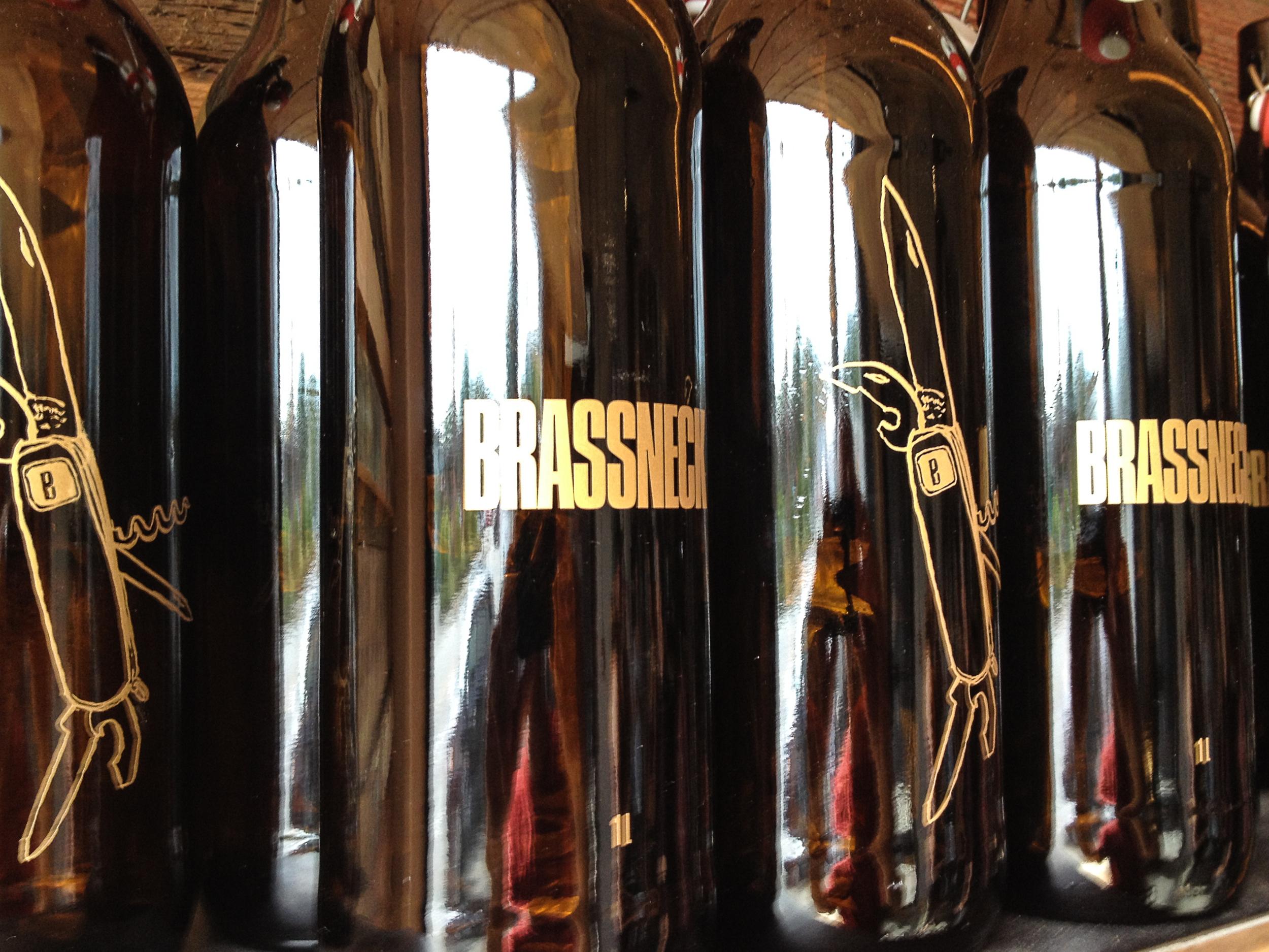 Bottles at Brassneck