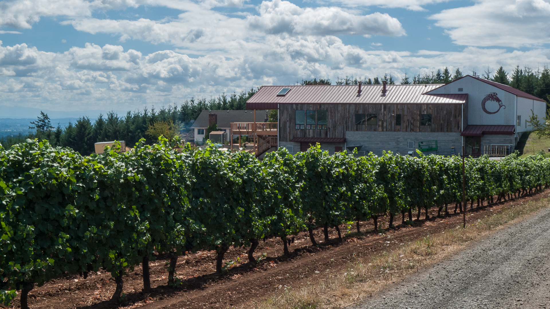 And the new winery. Very impressive!