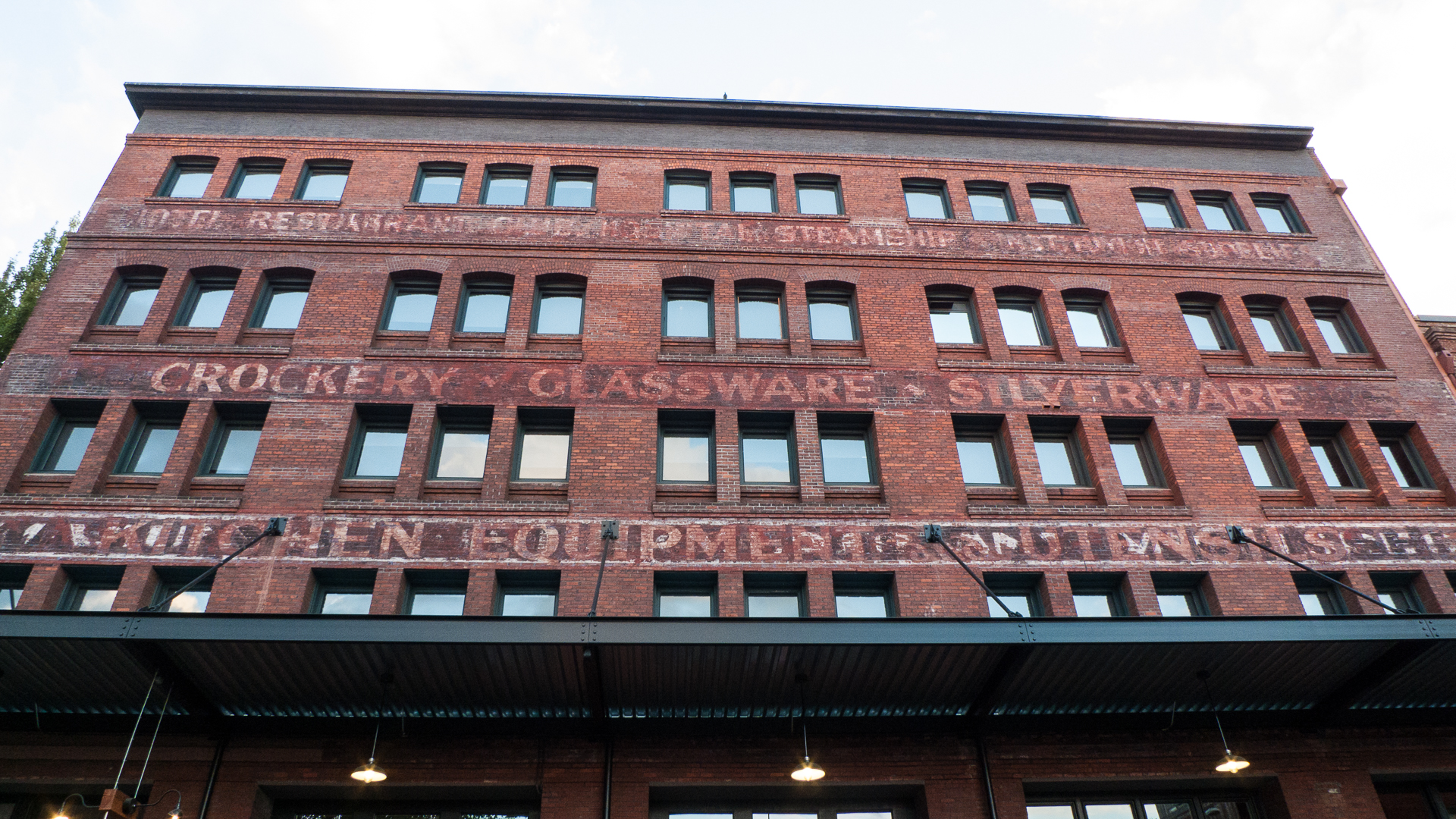 Some of the interesting buildings in downtown Portland.