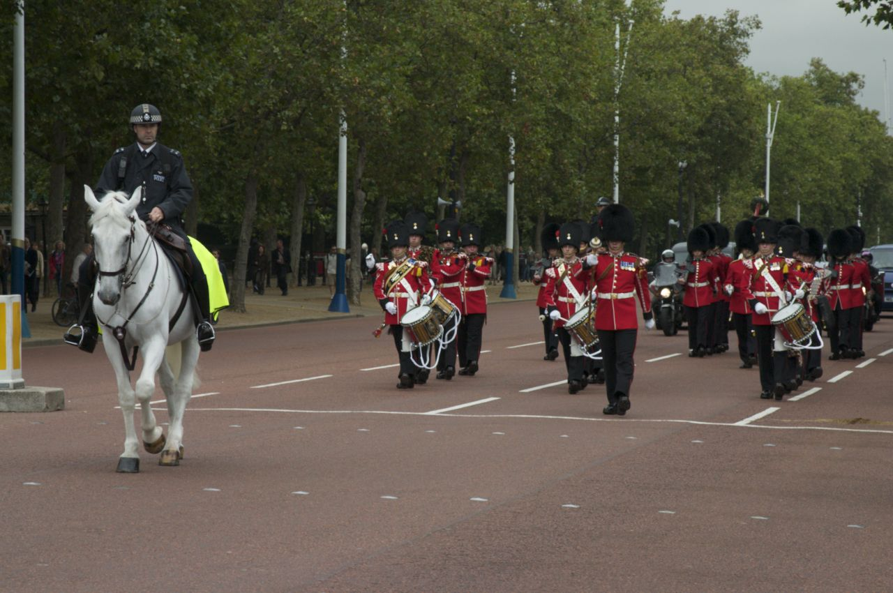 The Changing of the Guard, Buckingham Palace