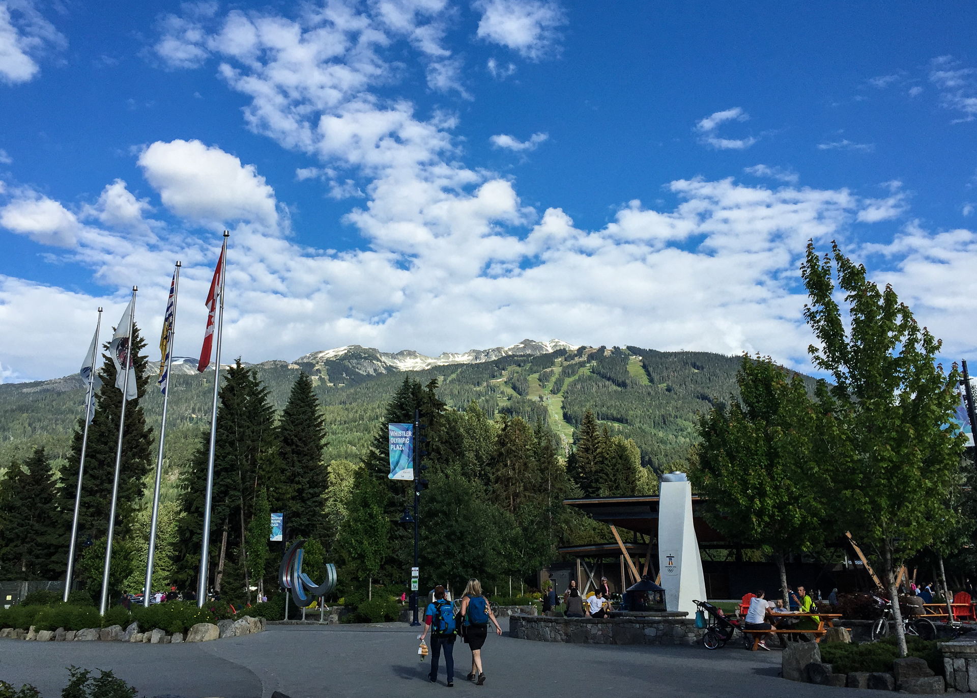 It was a beautiful day in Whistler!