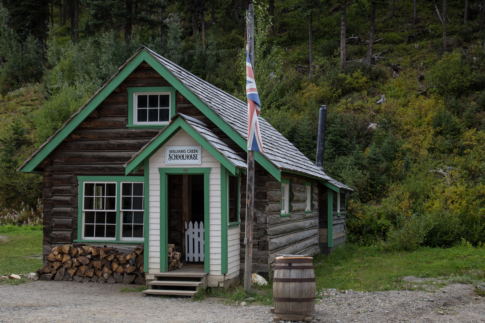 The Outside of the Schoolhouse