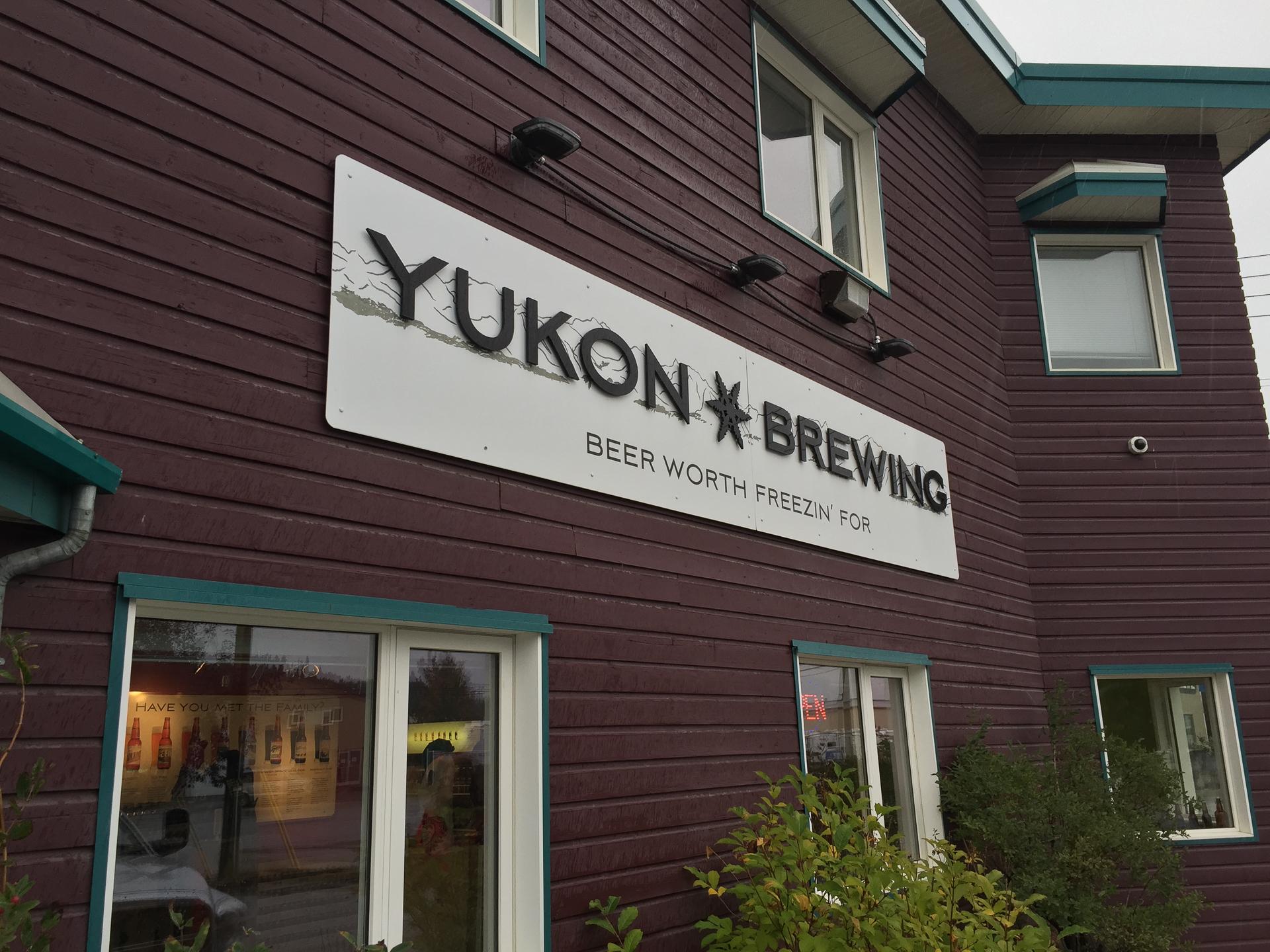 The iconic Yukon Brewing Company
