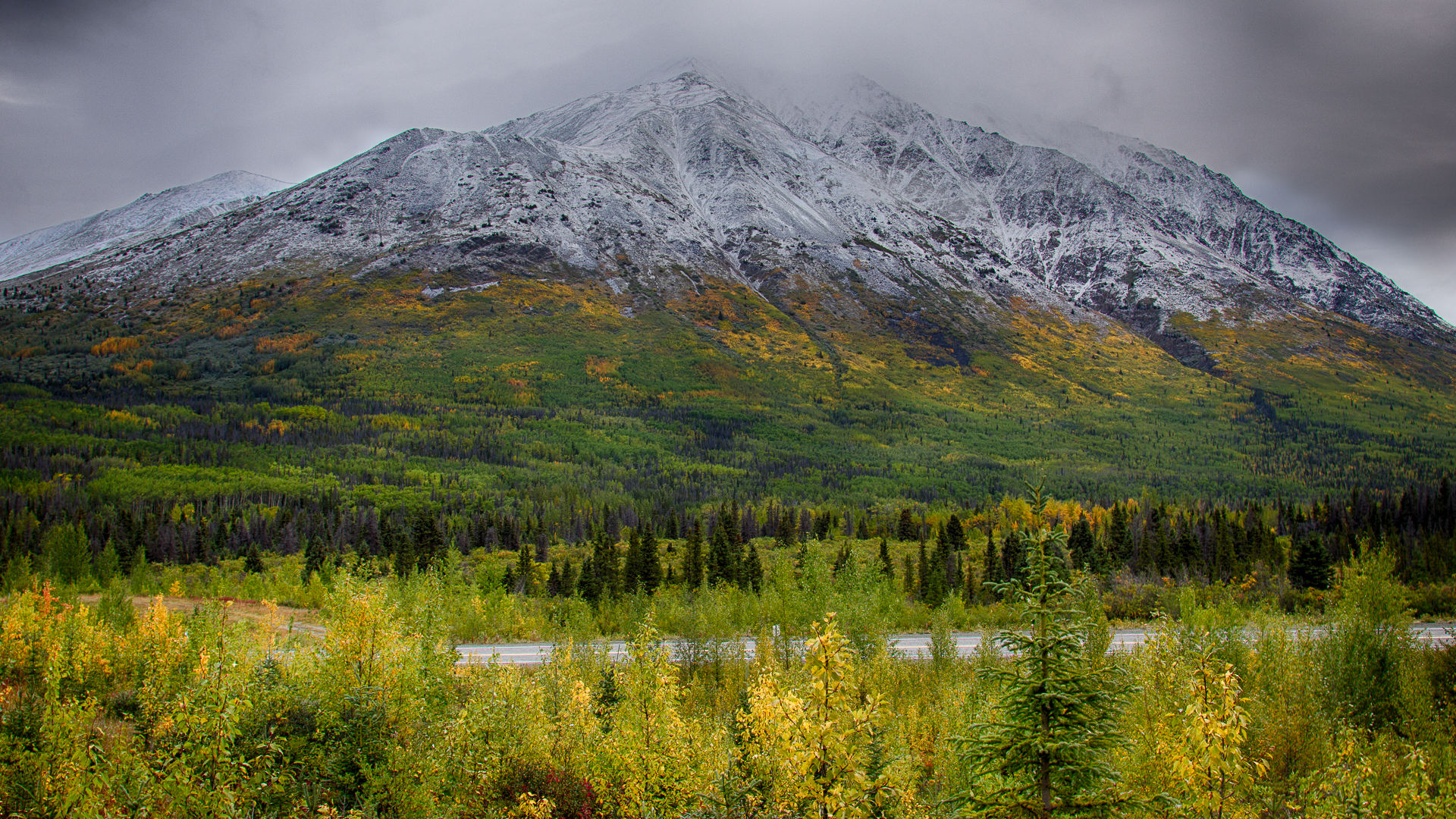 Some of the amazing fall scenery.