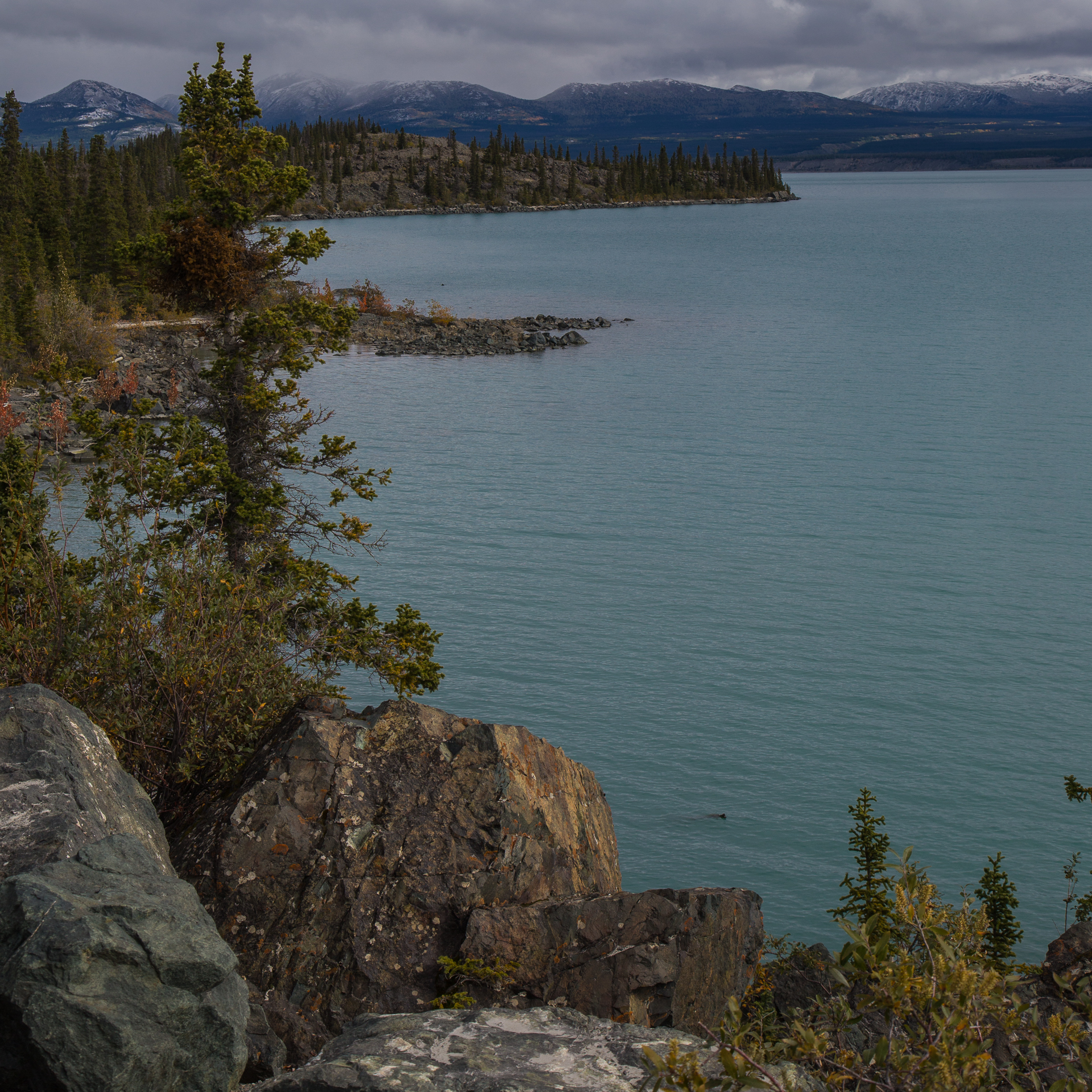 A slightly different view over Kluane Lake.