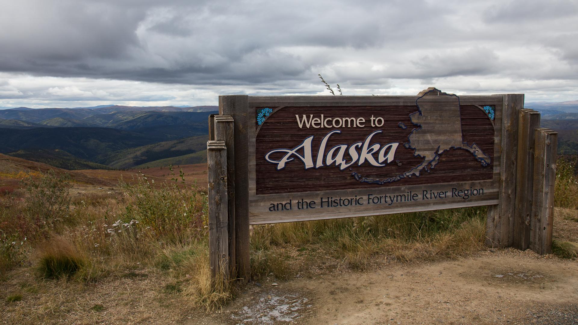 Leaving Alaska, back into the Yukon