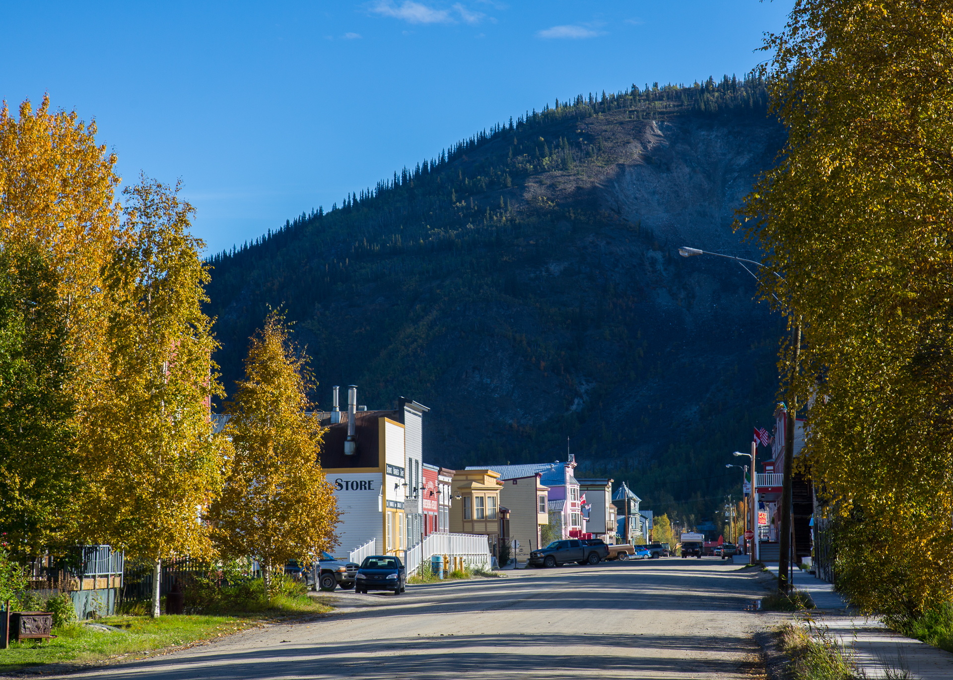 Dawson City is a beautiful place - especially in the nice morning light!