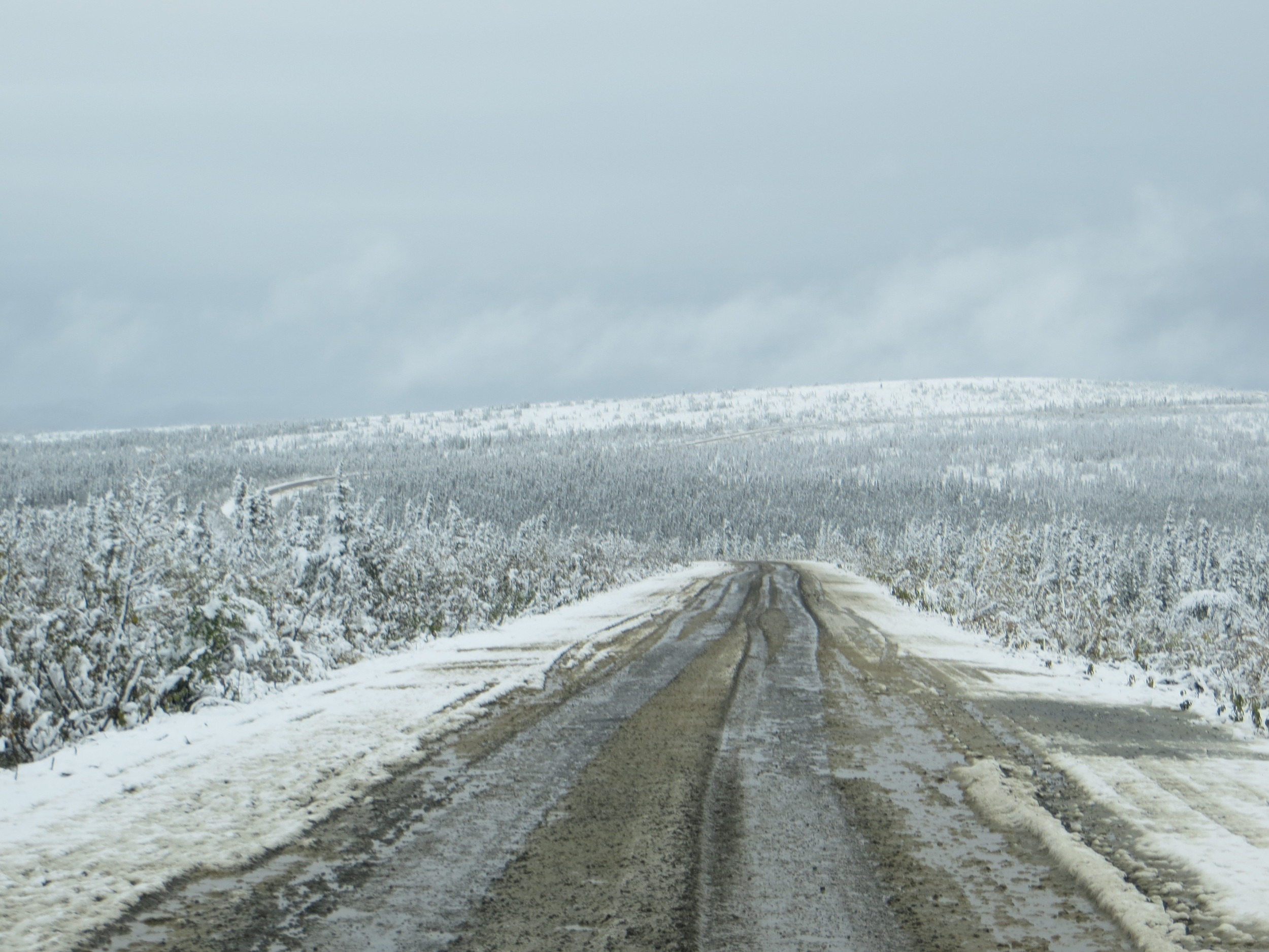 This gives you a pretty good idea of what the roads were like. OK not really - thye were way worse than they look.