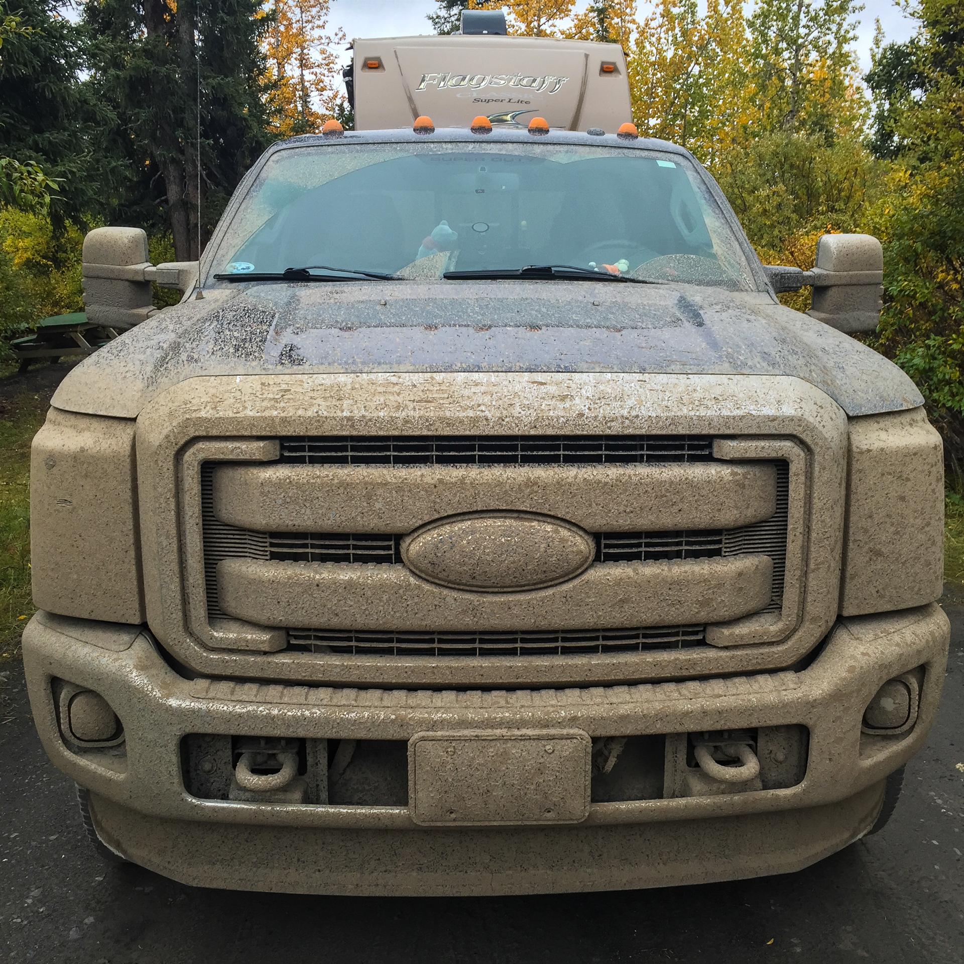 dirty truck headon
