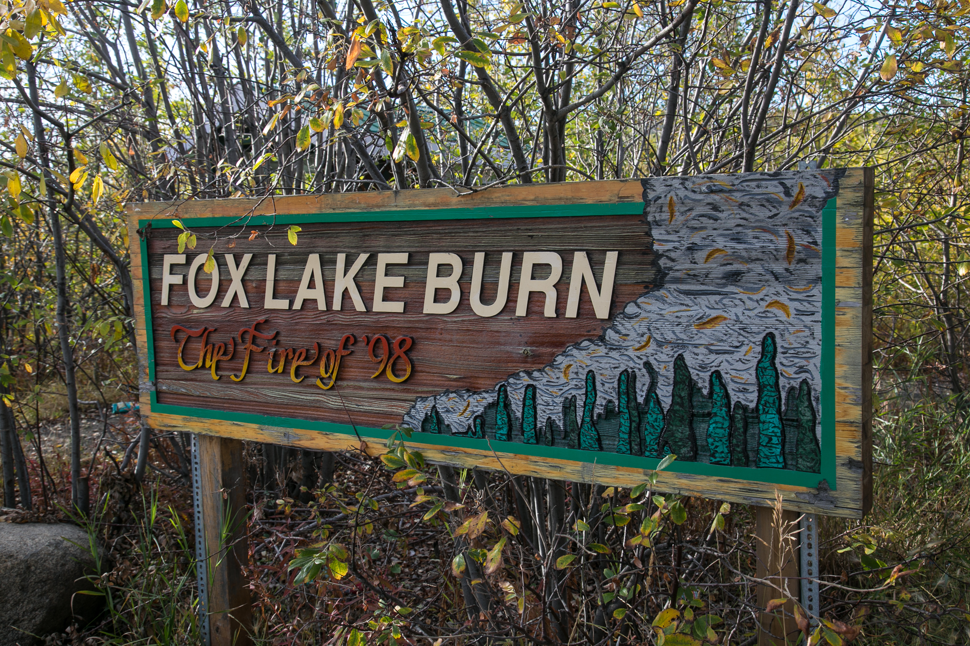 fox burn sign