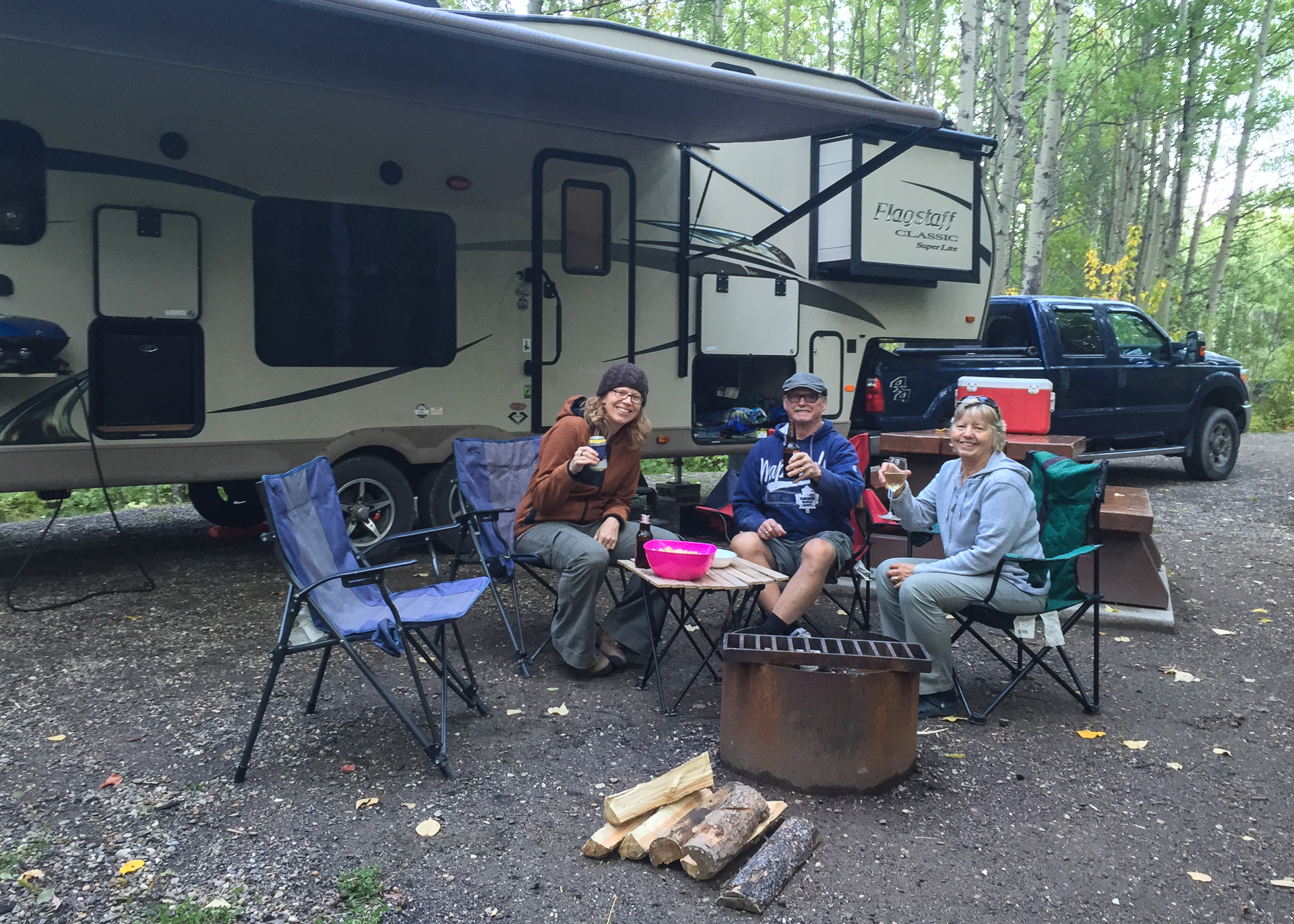 Our last campsite was a great one!