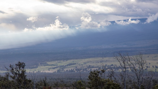 Crazy clouds on the slopes of Mona Loa