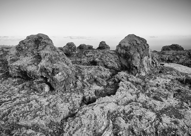 Lava formations along the Chain of Craters road