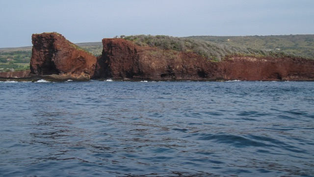 And the coastline on the second dive. Quite similar, but very beautiful.