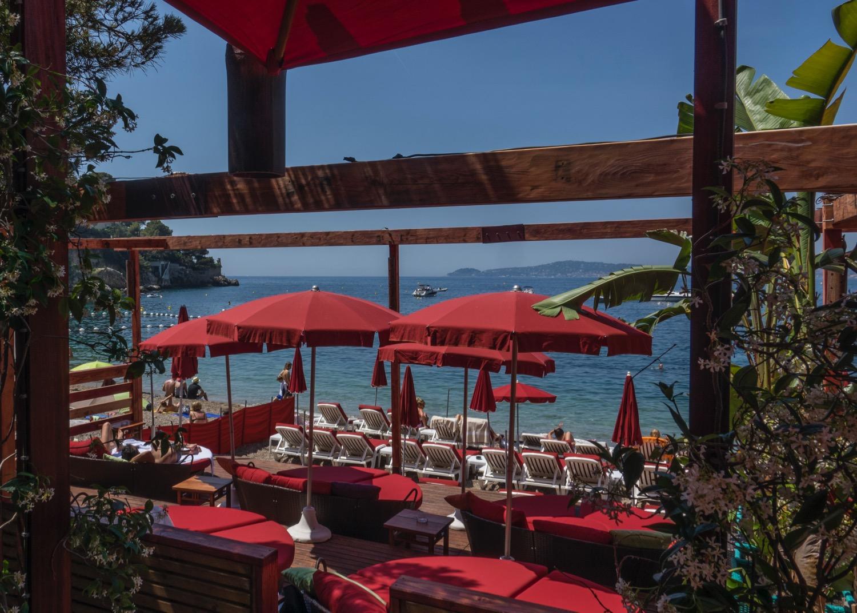 The beach club, where I had lunch