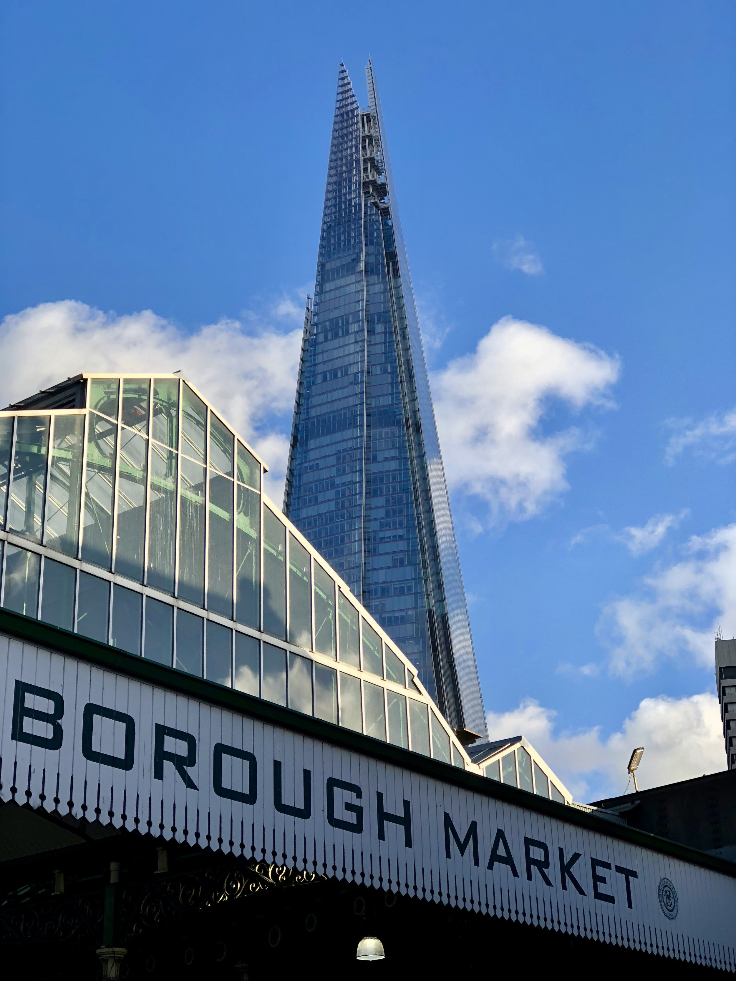 The Shard and Borough Market