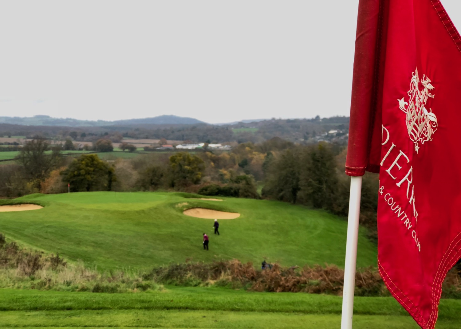A nice view back at one of the excellent par 3s