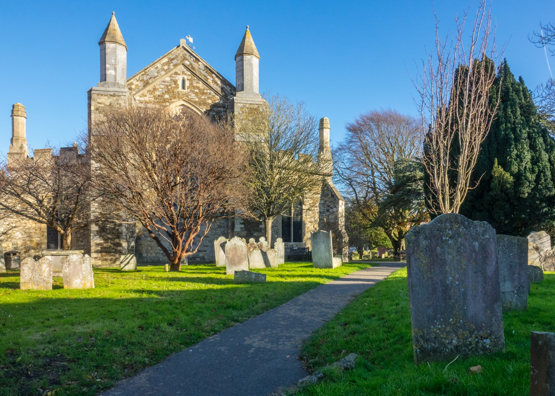 The church and church yard