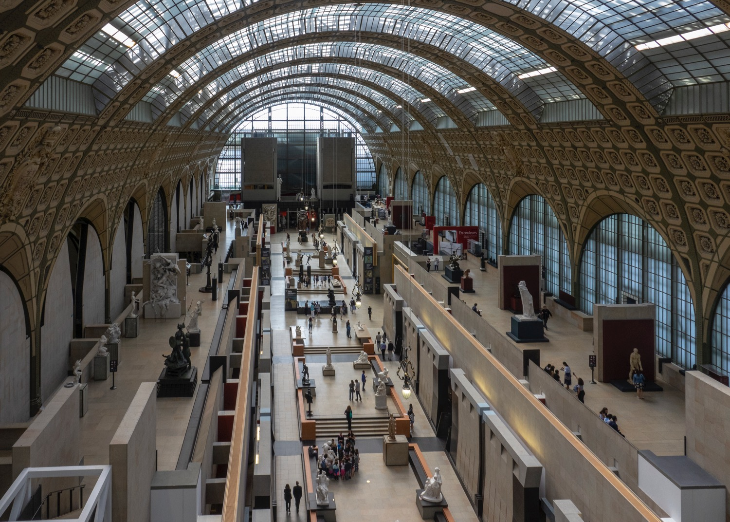 My favoruite art museum, the Musee D'Orsay